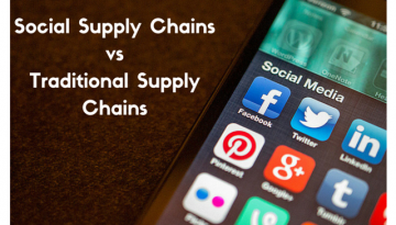 Social Supply Chains versus Traditional Supply Chains