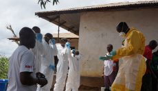 In Our Thoughts and Prayers: The Ebola Outbreak and Logistics