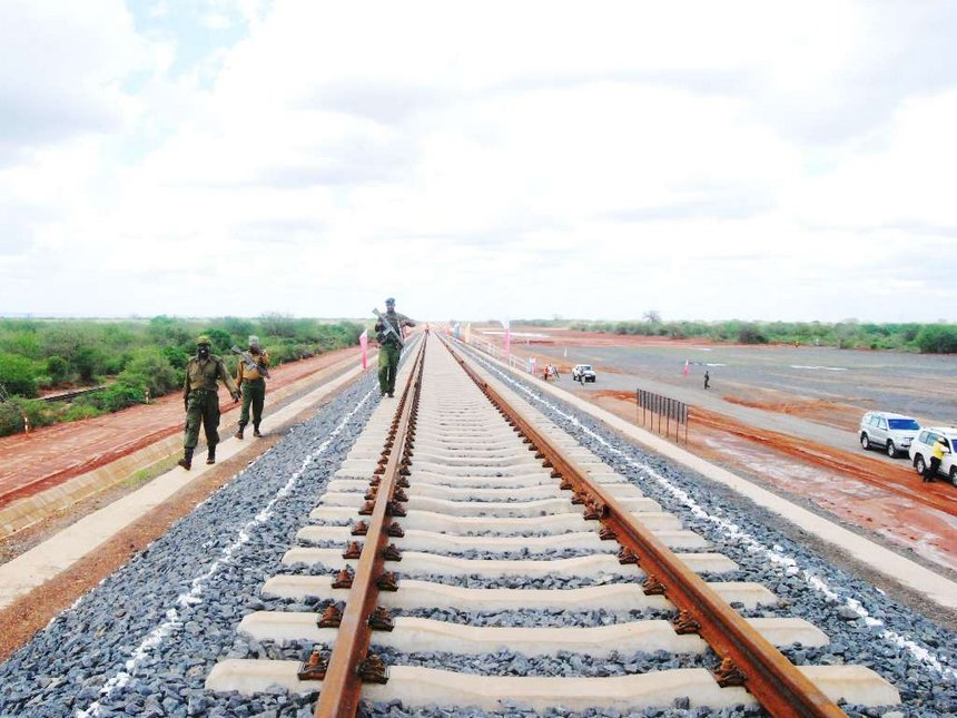 SGR rails before completion