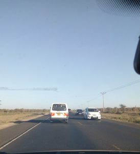Motorists on the Eldoret-Nakuru Highway - Will We soon start paying for road use [Photo: Sidoman]