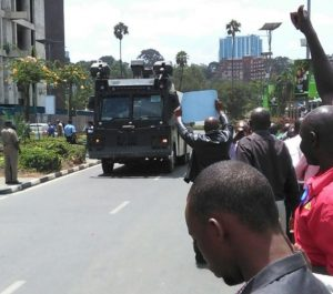 Members of Clearing and Forwarding agencies Protest delays in licensing by KRA Customs department [Image: sideman.com]