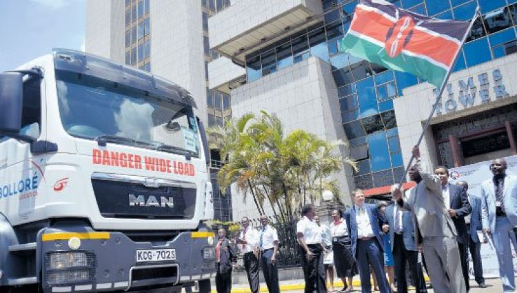 KRA Flags Off Regional Electronic Cargo Transit System
