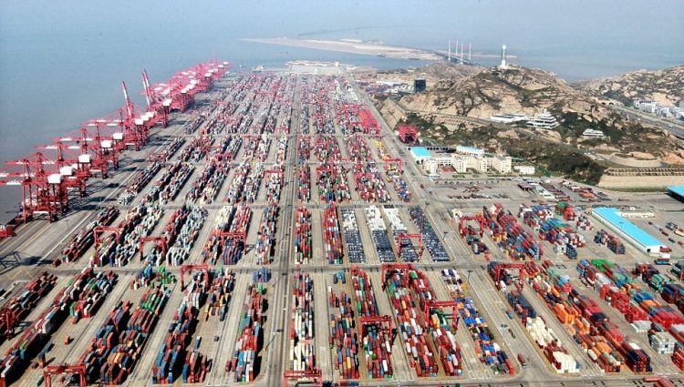 The largest container ports in the world